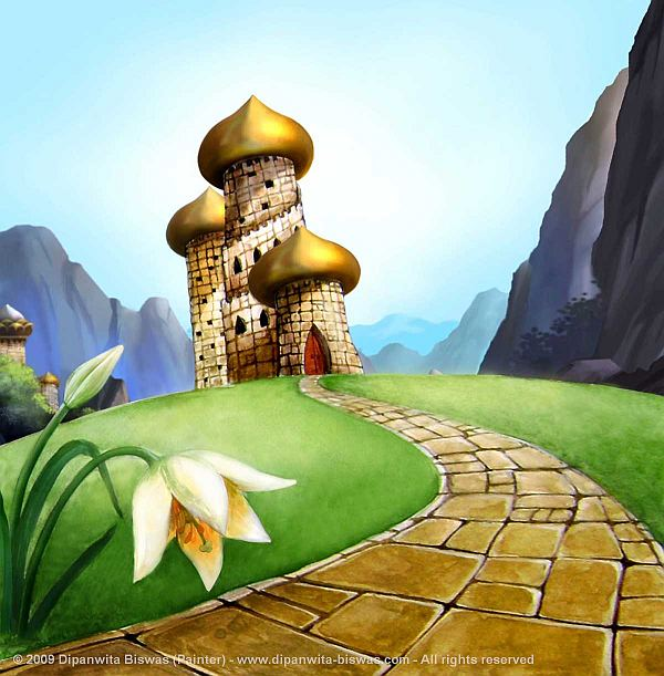 Dipanwita-Biswas-Background-Art-Golden-Castle-06112009-1